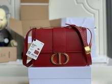 30 MONTAIGNE BAG Red Box Calfskin