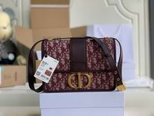 30 MONTAIGNE BAGBrown Dior Oblique Jacquard