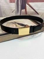 Reversible Plaque Buckle London Check Belt